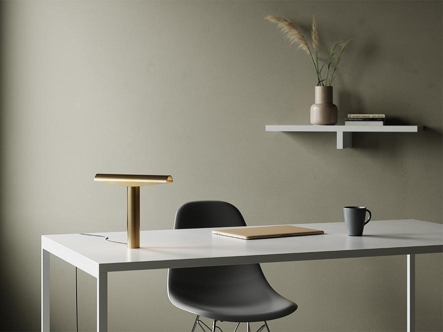 Hotte de lampe minimaliste. Design par BEEM.