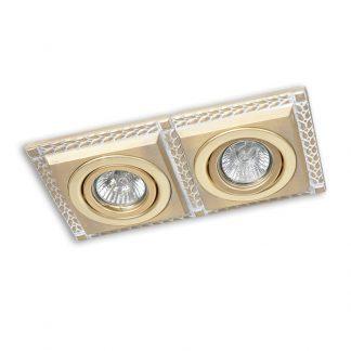 Double Spot en Laiton LINE (Ampoule LED Incluse)