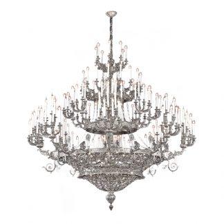 Lustre 168-Ampoules en Laiton CAMILA
