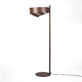 Lampadaire Design Rétro VULCANO en Métal - Riperlamp